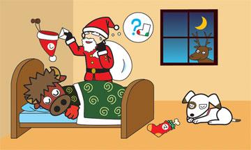 ししべこ クリスマス